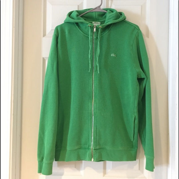 41903996588914 Lacoste Other - Green Lacoste hoodie small vintage wash